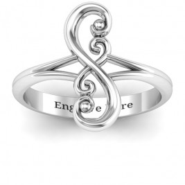Flourish Infinity Ring