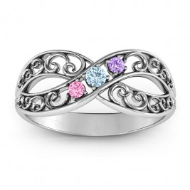 Forever Filigree Infinity Ring