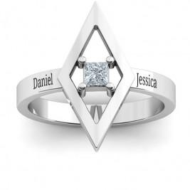 Glam Diamond Ring
