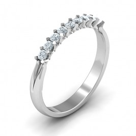 Glimmering Love Ring