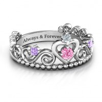 Happily Ever After Tiara Ring