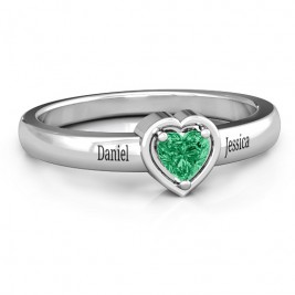 Heart in a Heart Ring