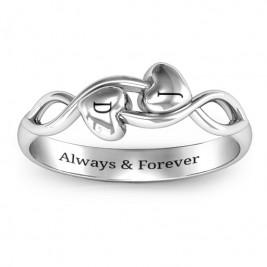 Heavenly Hearts Ring