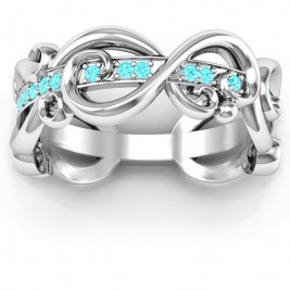 Imperative Love Infinity Ring
