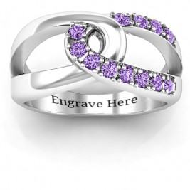 Infinity Embrace Ring