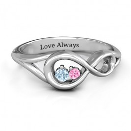 Infinity Love Nest Ring
