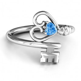 Key to Her Heart Ring