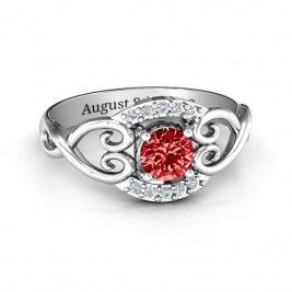 Lasting Love Promise Ring with Accents