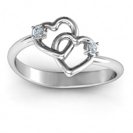Linked in Love Ring
