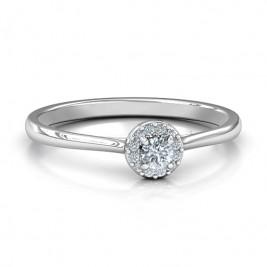 Little Luxury Halo Ring