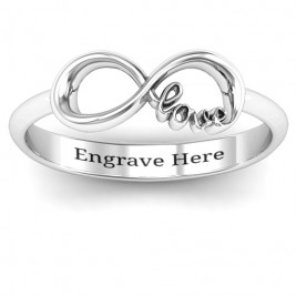 Love Infinity Ring