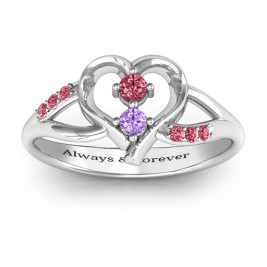 Magical Moments Two-Stone Ring