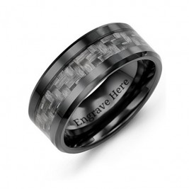 Men's Nightfall Ceramic Ring