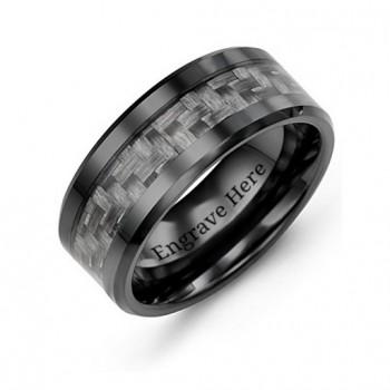 Men's Nightfall Ceramic Ring
