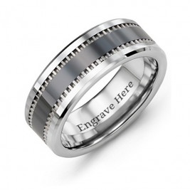 Men's Trail Tungsten Ring