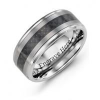 Men's Trinity Tungsten Ring