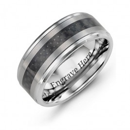 Men's Trinity Tungsten Ring