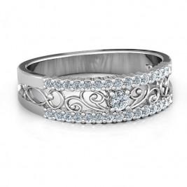Mesmeric Love Ring