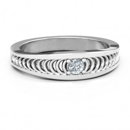 Modern Elegance Band Ring