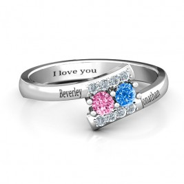 Must Be Love Two Stone Ring