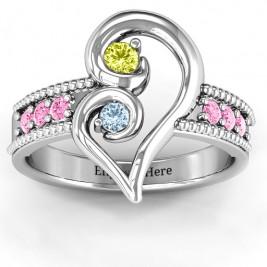 Nesting Love Ring