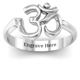 Om - Sound of Universe Ring