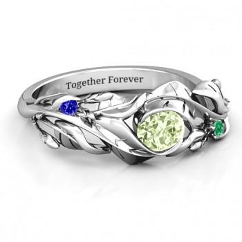 Organic Leaf Ring
