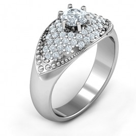 Paved in Love Ring
