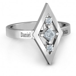 Playing with Diamonds Ring