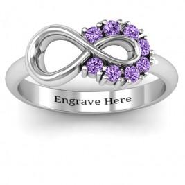Precious Infinity Ring