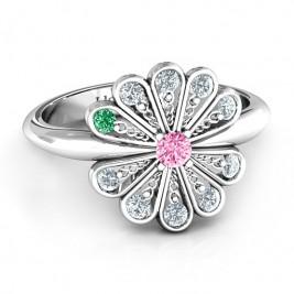 Pretty As A Peacock Ring