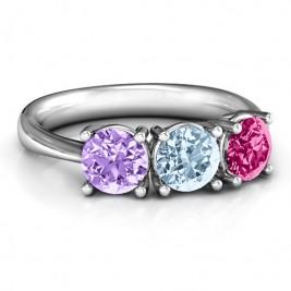 Radiant Trinity Ring