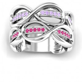 Ravishing Love Infinity Ring