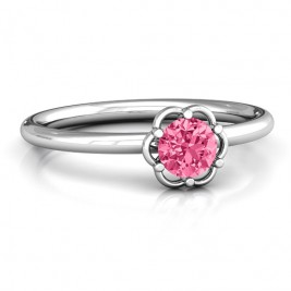 Scarlet Flower Ring