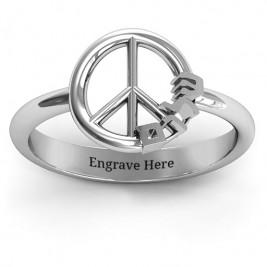 Shalom Peace Ring