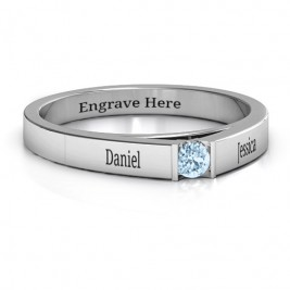 Solitaire Bridge Ring