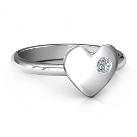 Soulmate's Heart Ring