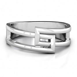 Square on Square Geometric Ring