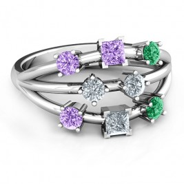 Sterling Silver  Cosmic Energy  Ring