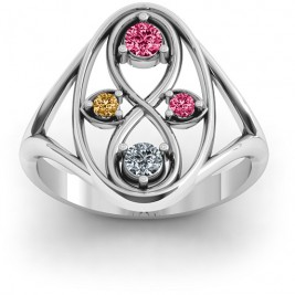Sterling Silver  Forever Love  Ring