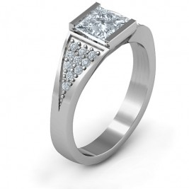 Sterling Silver Bold Love Ring
