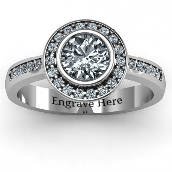 Sterling Silver Circles of Love Ring