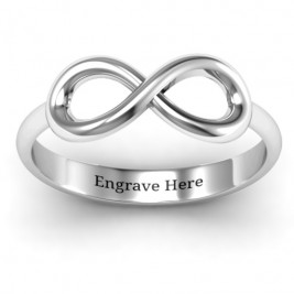 Sterling Silver Classic Infinity Ring