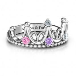Sterling Silver Like A Dream Tiara Ring