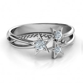 Twinkling Starlight Ring