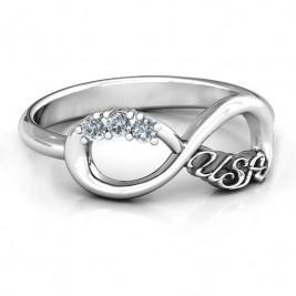 USA Infinity Ring
