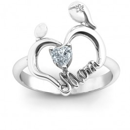 Unbreakable Bond Heart Ring