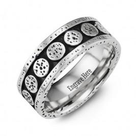 Unique Cobalt Ring