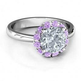 Victoria Single Halo Ring