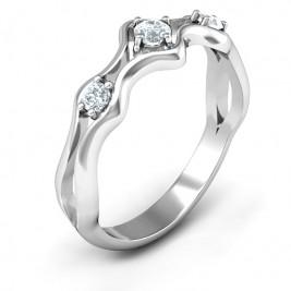 Wavy Trio Ring